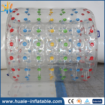 Factory price inflatable water roller, water roller ball for sale