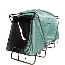 Aviation Aluminum Rod Green Military Tent Cot With Breathable Mesh