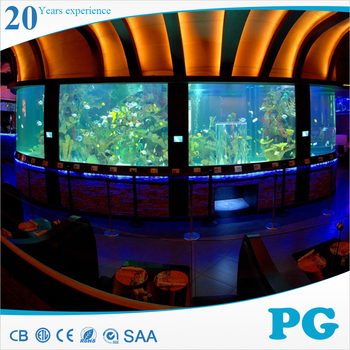 PG Custom Flat Acrylic Fish Tank Aquarium