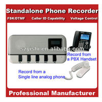 Standalone Telephone Recorder Supports TF Card