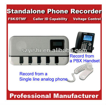 Standalone Telephone recorder supports TF card, telephone recording devices
