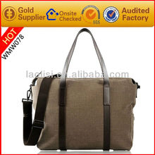 Fashion leisure travel bag men's canvas duffel bag