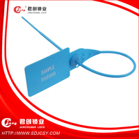 ISO17712 Container And Bag Security Plastic Seal With Print Logo Accept