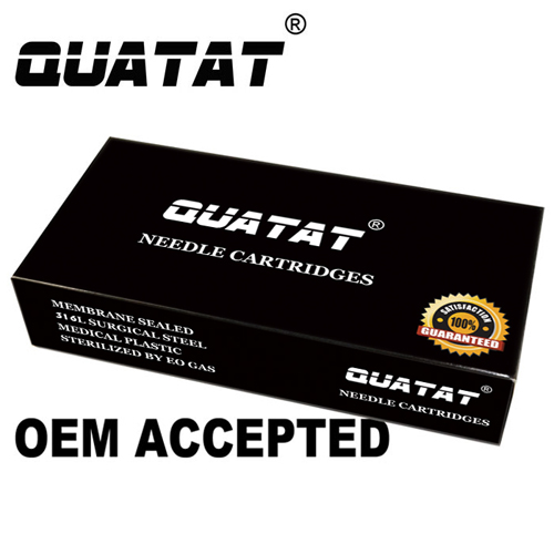2017 High Quality QUATAT Brand tattoo cartridge needles excellent quality