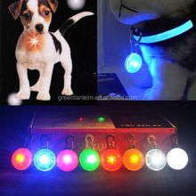 New Arrival LED colorful Dog Safety Night Light Pendant Necklace Pet Cat Puppy Flashing Luminous Collar Dog accessories grooming