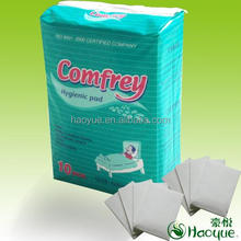 incontinence bed pads/medical under pads disposable product with high absorption