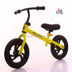 CE approved balance bike/balance bicycle for children from alibaba