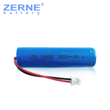 China supplier wholesale 3.7v 2600mah rechargeable 18650 li-ion battery