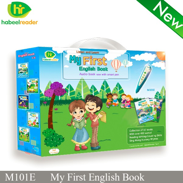 2017 Hot selling English talking pen for kids English reading pen with sound books for children