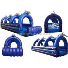 good quality outdoor inflatable water slides slip,home summer games,slip pool water slide