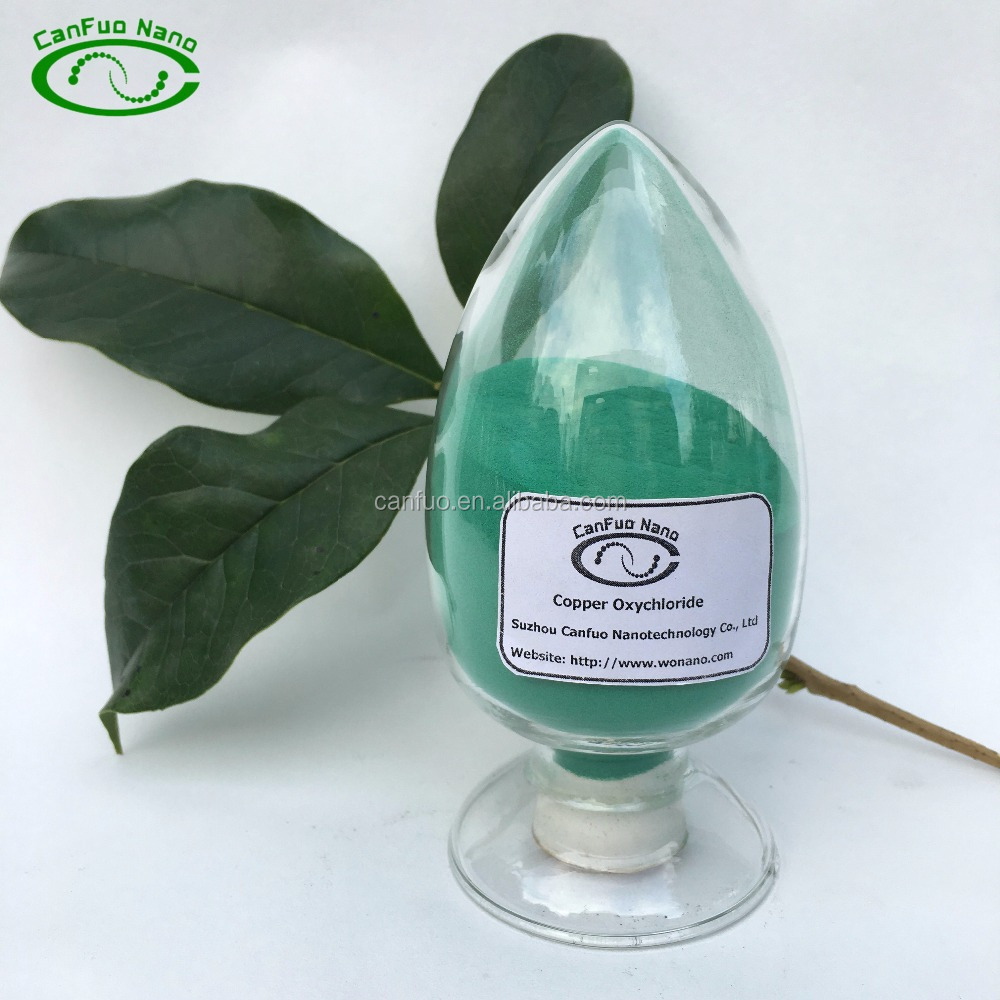 Basic Copper Chloride 98% Cupric Oxychloride good price as fungicide/feed additive for sale