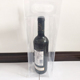 PVC/EVA Clear Packing Wine Bottle Bags With Brand Logo