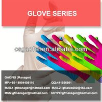 latex surgical hand gloves