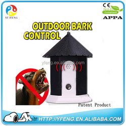 New designer Pet Dog Outdoor Ultrasonic Bark Stop Deter Nuisance Control Anti Barking House pet products