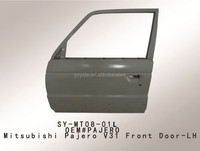latest hot selling front door and engine hood auto parts mitsubishi pajero