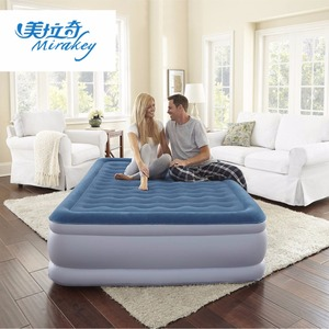 Mirakey airbed Queen flocking material air bed inflatable mattress air bed household