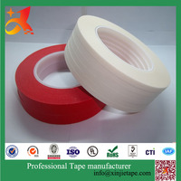 For car painting users crepe paper natural rubber adhesive Automotive Masking Tape