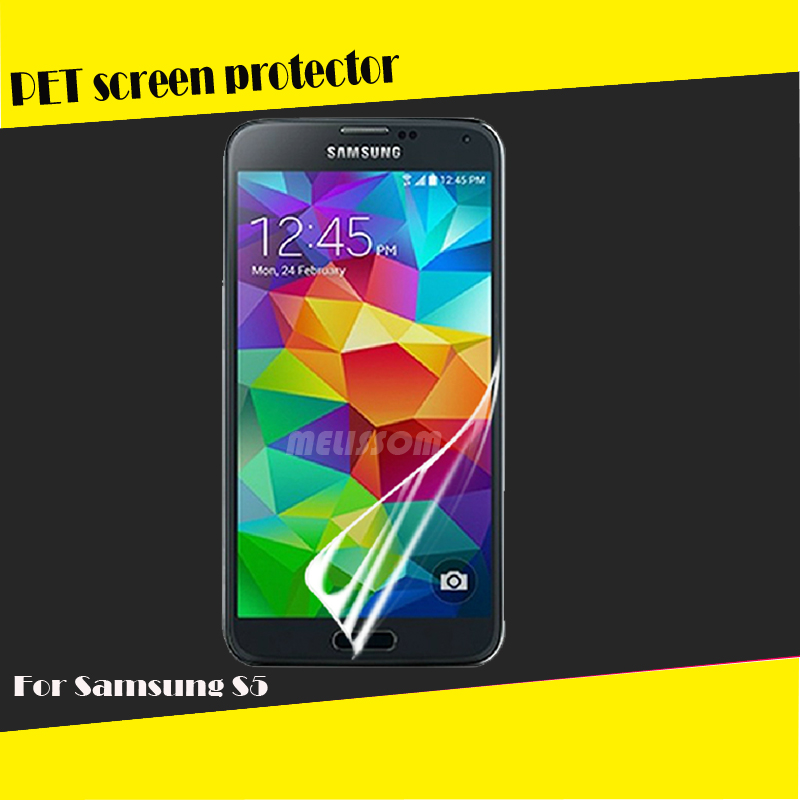 Factory wholesale PET high clear screen film for Samsung Galaxy S5 i9600 OEM/ODM