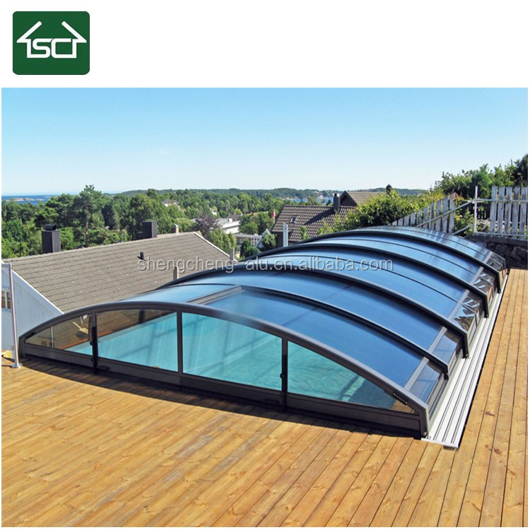 Low Vertical Retractable Swimming Pool Cover Above Ground - Buy Security  Swimming Pool Cover,Swimming Pool Cover Above Ground,Retractable Swimming  ...
