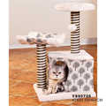 Cat Tree Scratching Post Scratcher Pole Gym House Furniture Multi Level H64CM
