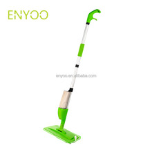 healthy aluminum pole microfiber water floor spray mop with microfiber cloth