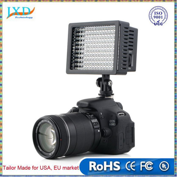 160 LED Studio Video Light for Canon for Nikon Camera DV Camcorder Photographic Lighting Studio Professional