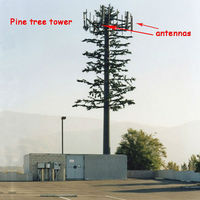 telecom pine tree tower base station