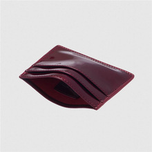 RFID Patent leather credit card custom Card holder