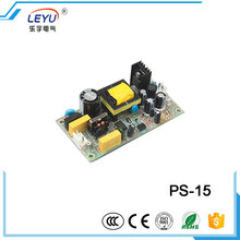 Chinese supplier LEYU open frame 12v ac dc PS-15-12 single output switching power supply Led driver