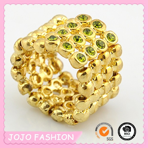latest gold ring designs for girls