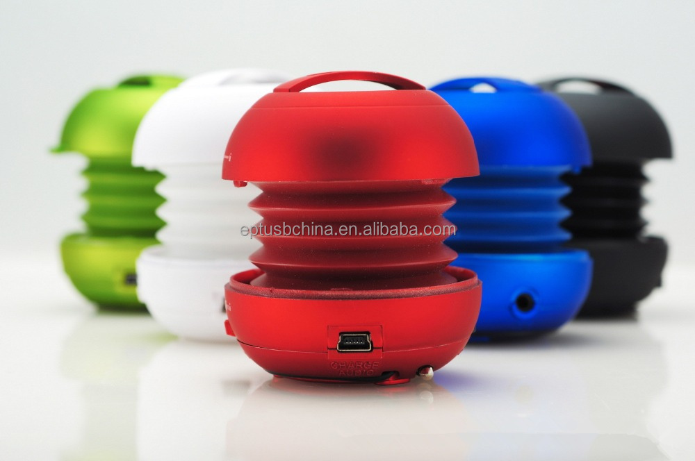 Hamburger bluetooth mini speaker design with wireless subwoofer