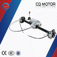 four/ three wheeler E- tricycle/car/TUK TUK/Tour bus Disc Rear Axle with DC gearbox electric motor