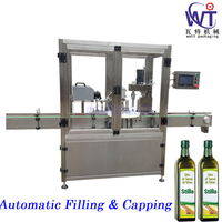 Fully Automatic Olive Oil Filling and Cappping Machine