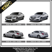 Refined aero body kit for C class W205 in LD style with PRT