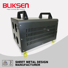Professional sheet metal fabrication powder coated small truck tools box
