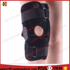 Medical Knee Support Neoprene Breathable Knee Brace Adjustable Size, Black Color