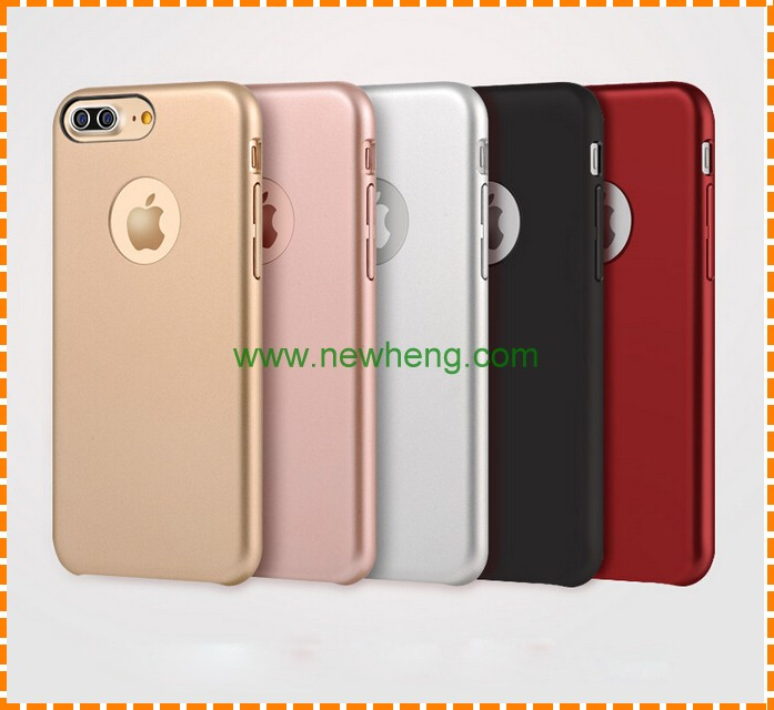 Hot Selling Ultra Thin Frosted Matte oil injection Hard Back Cover Phone Case For Iphone 7