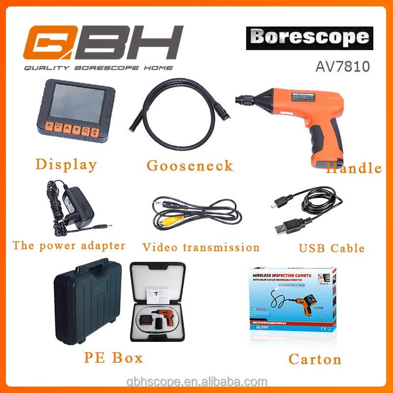 new type cctv crawling inspection camera