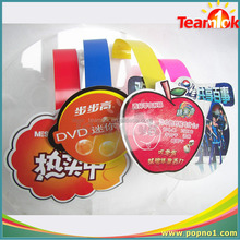 plastic dangler hot sale advertising pvc shelf wobbler