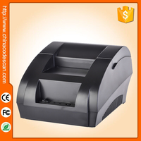 NT-5890K lower price hotel bill 58mm receipt thermal printer with portability for supermarket and store