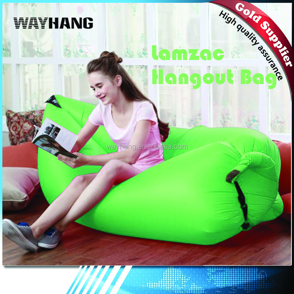 2016 lamzac hangout bag, lamzac hangout inflatable sleeping bag, sleeping air bag lamzac hangout