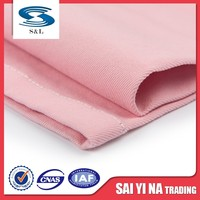 97% cotton and 3% spandex tissue fabric white cotton cloth
