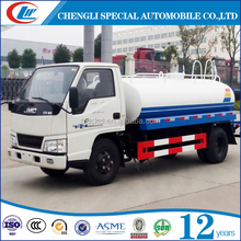 4x2 water truck 4cbm watering truck 4000 Liters water tank truck for sale