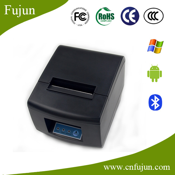 512 dots/Line 2 Interfaces USB+Bluetooth Mobile POS Printer Wireless Thermal Line Printer for Catering Trade