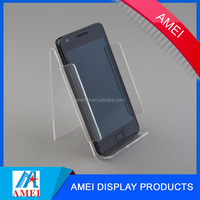 2017 Hot sale pop desktop acrylic cell phone holder /acrylic