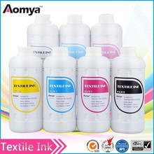 Textile ink DGT digital to cotton garment printing white ink for Epson