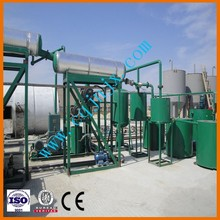 China used oil refining/black automotive oil refinery/regeneration/recyclable machine oil