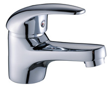 ZInc Alloy Modern and High Quality basin faucet tap with single handle by china manufacturer