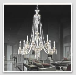 Antique Style Zinc alloy crystal chandelier candelabra india for hotel