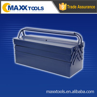 Portable 5 trays tool box,power coated toolbox